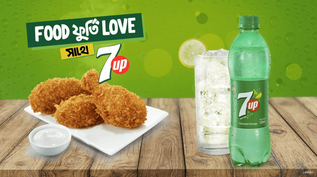 Food Furti Love Sathe 7up Motion Graphics