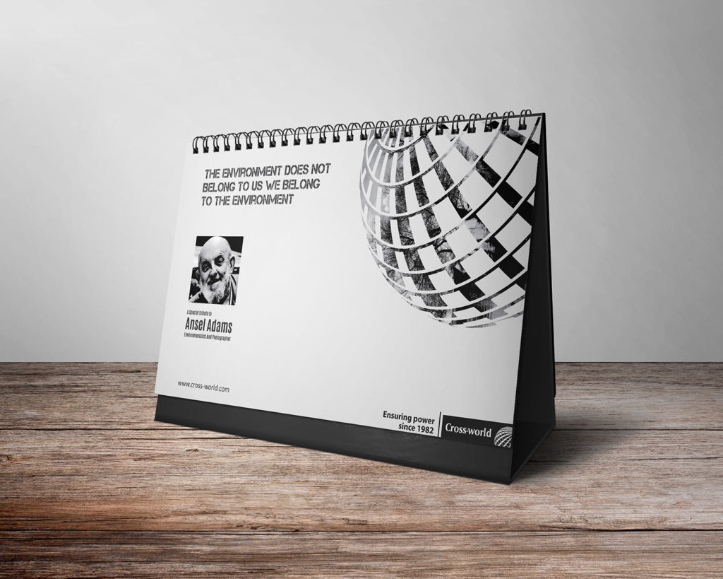 2017 Calendar Design for Cross World Bangladesh