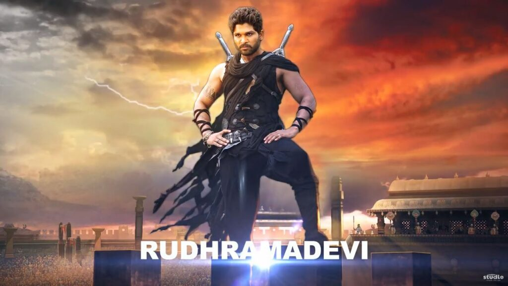 Allu Arjun Motion Poster 4 After Effect