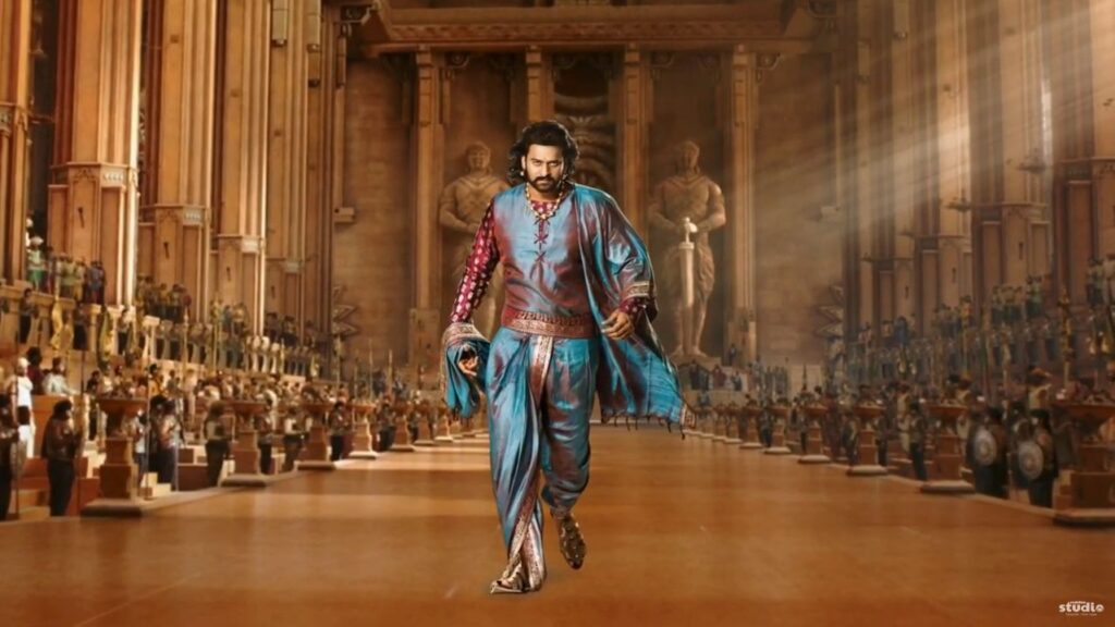 Bahubali Motion Poster Prabhash Thunderstorm After Effect