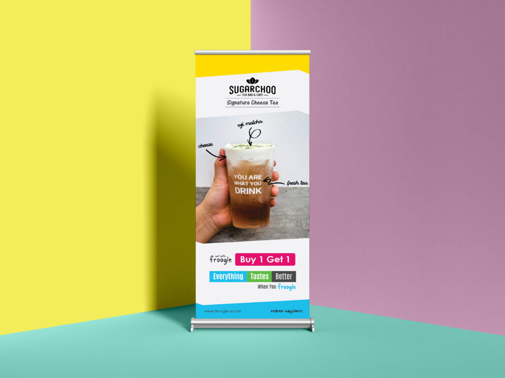 Froogle Offer Marketing Banner Design
