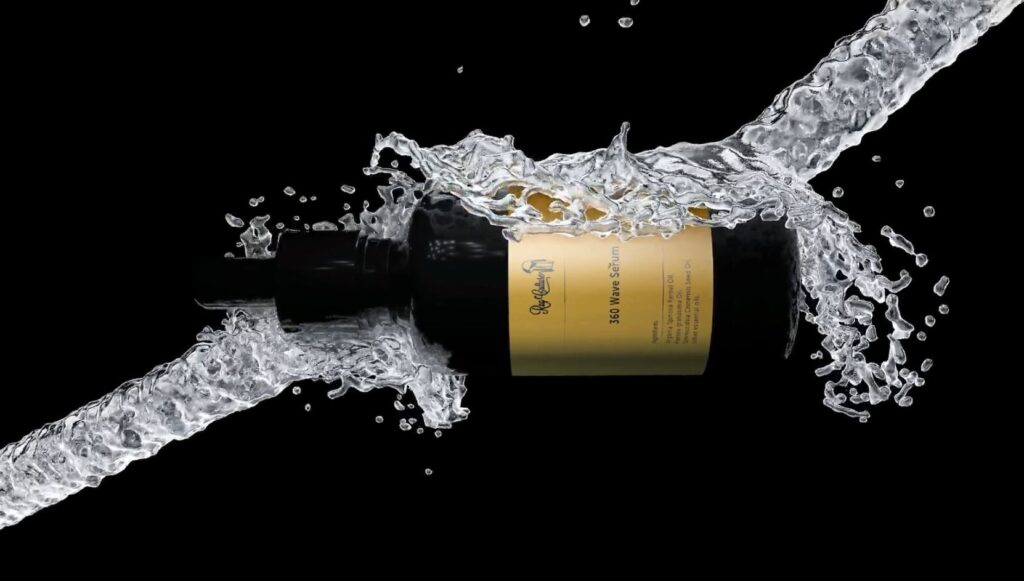 Product CG Animation of 360 Wave Oil